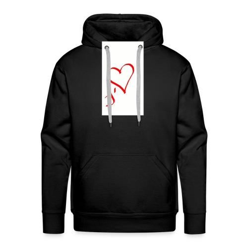 J'tm by Cyrus Vella - Sweat-shirt à capuche Premium pour hommes