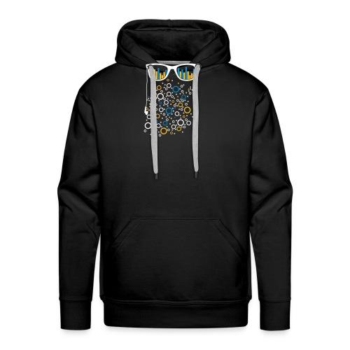 Brille mit Equalizer - Männer Premium Hoodie