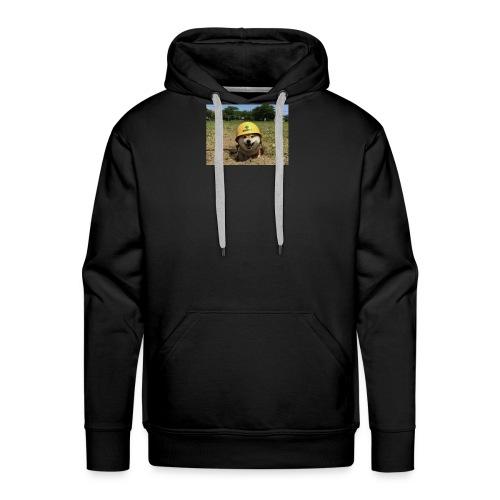 Safety doggo - Mannen Premium hoodie