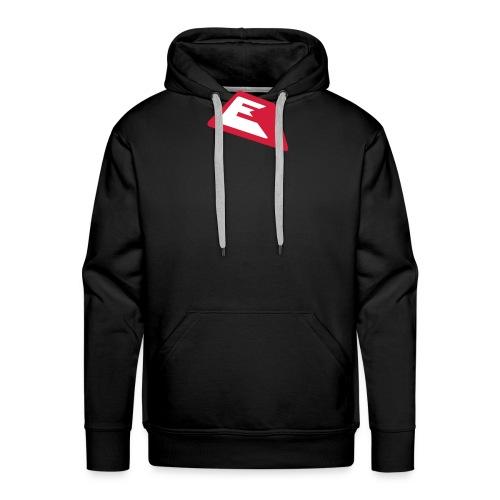 ek logo single03 2color - Männer Premium Hoodie