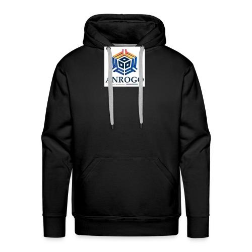ANROGO - Sudadera con capucha premium para hombre