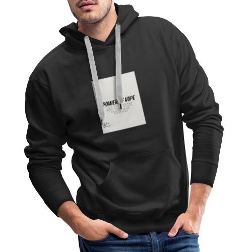 Power Of Hope Logo - Men's Premium Hoodie