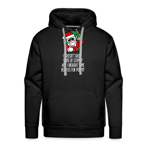 New year's eve Champaign happy new year Sylvester - Men's Premium Hoodie
