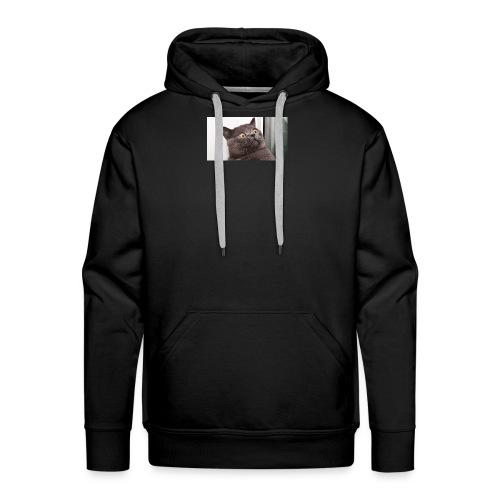 Funny cat tshirt - Men's Premium Hoodie