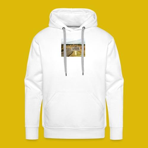 la LOOSE en gelée - Sweat-shirt à capuche Premium pour hommes
