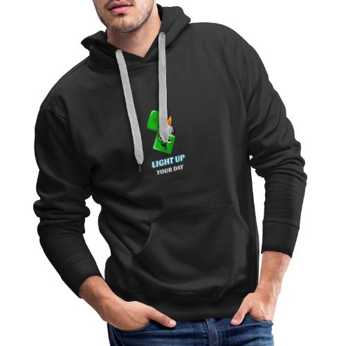 Light up your day - Männer Premium Hoodie