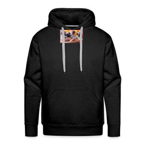love pug shirt - Men's Premium Hoodie