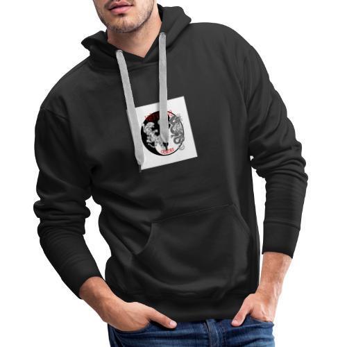 logoclub - Sweat-shirt à capuche Premium pour hommes