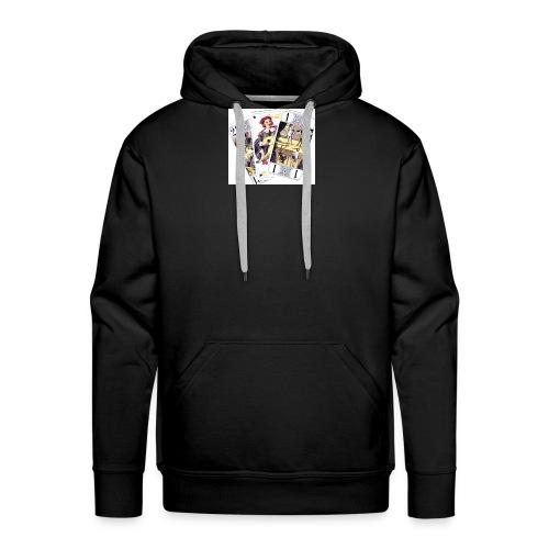 Ah les cartes... - Sweat-shirt à capuche Premium pour hommes