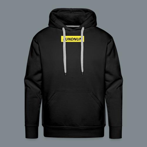 Kundnun official - Mannen Premium hoodie