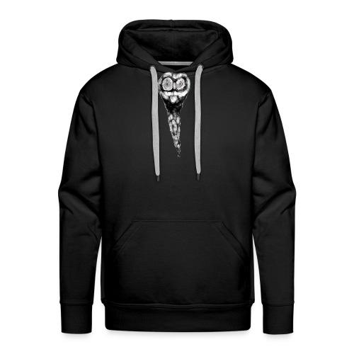 HIBOU SHIRT - Sweat-shirt à capuche Premium pour hommes