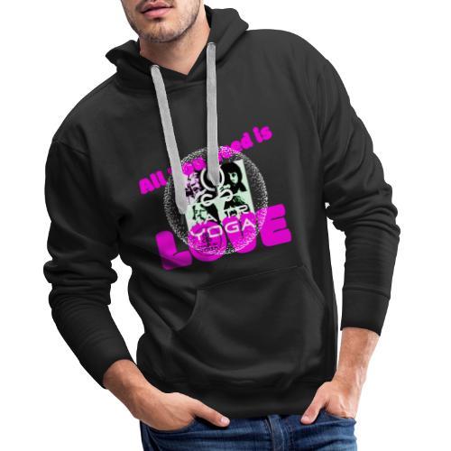 AllYouNeedIsLove - Sweat-shirt à capuche Premium pour hommes