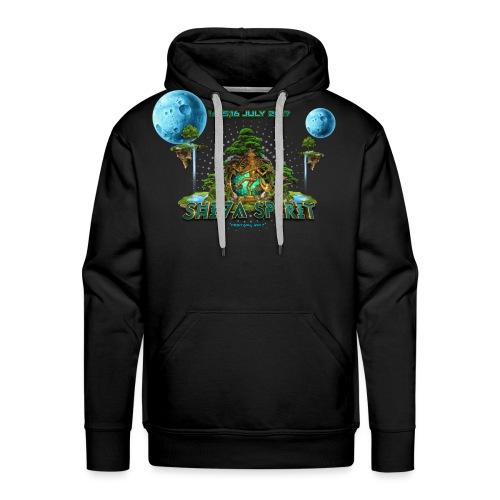 Shiva Spirit Logo - Herre Premium hættetrøje
