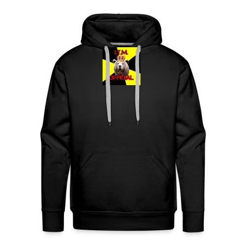 Landlord Bear 06092017214918 - Felpa con cappuccio premium da uomo
