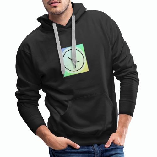 Regenbogen Augen - Männer Premium Hoodie