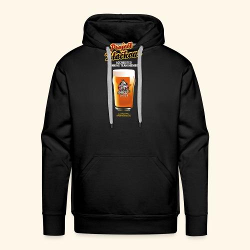 Drinking Shirt Project Blackout - Männer Premium Hoodie