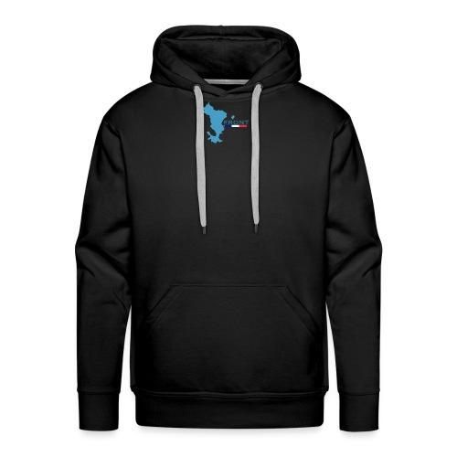 FRONT -1 - Sweat-shirt à capuche Premium pour hommes