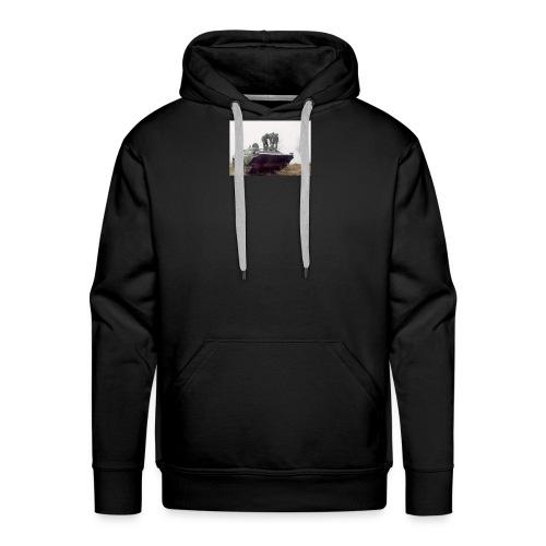 bwp2 - Bluza męska Premium z kapturem