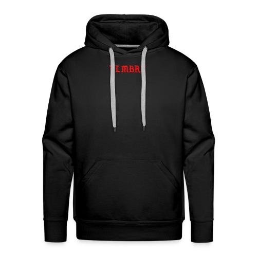 VLMBRT rouge - Sweat-shirt à capuche Premium pour hommes