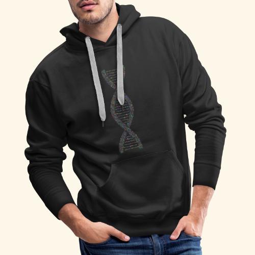 DNA - Sweat-shirt à capuche Premium pour hommes