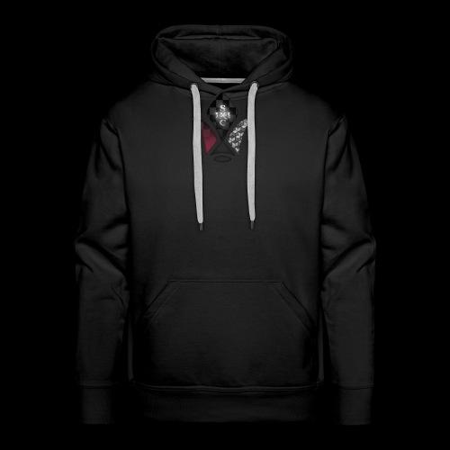 Saiyan Corps x IRON FLOWER COLLAB REIMAGINED - Mannen Premium hoodie