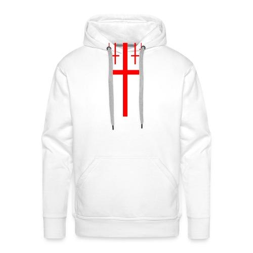 cross christus god jesus - Men's Premium Hoodie