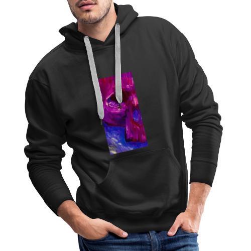 Purple Skull #2 - Mannen Premium hoodie
