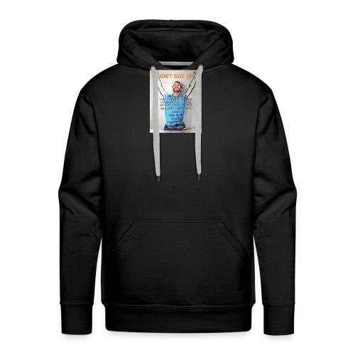 Nick Vujicic quotes - Mannen Premium hoodie