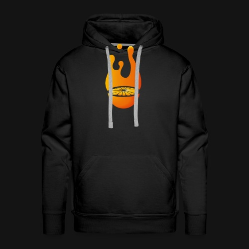 Orange - Männer Premium Hoodie