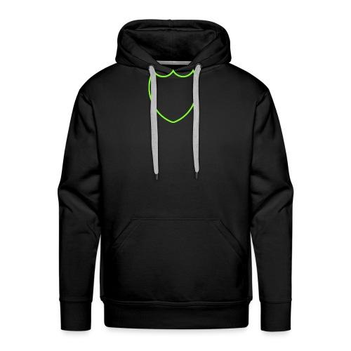 Dompe life green - Felpa con cappuccio premium da uomo