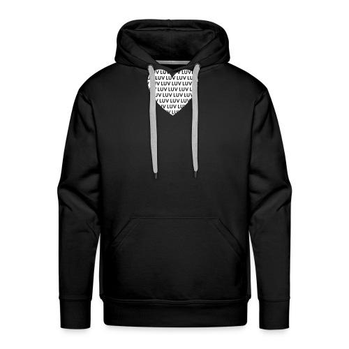 LUV Inverted love - Männer Premium Hoodie