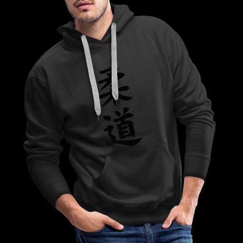 judo - Bluza męska Premium z kapturem