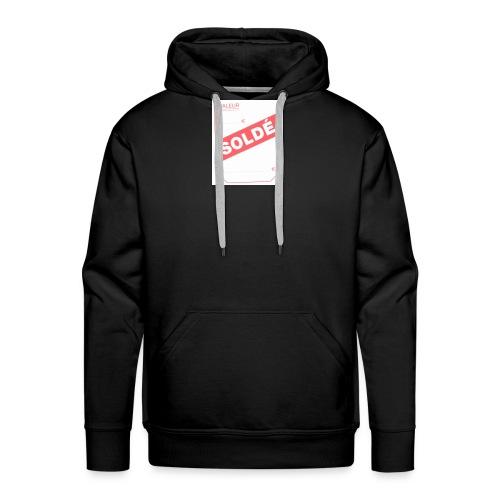 soldé - Sweat-shirt à capuche Premium pour hommes