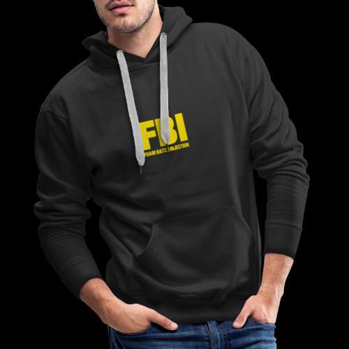 FBI - Sweat-shirt à capuche Premium pour hommes