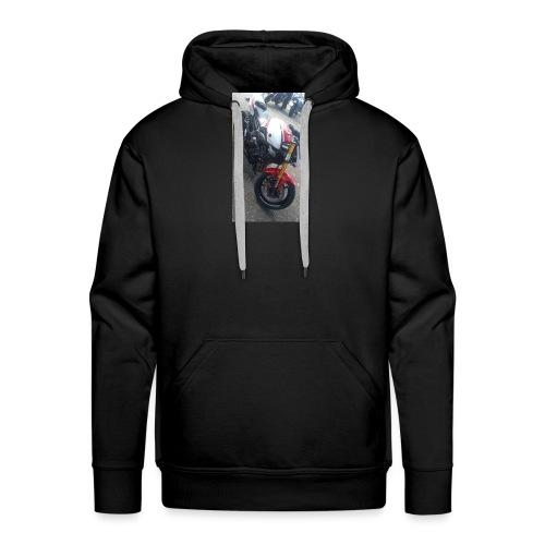 Sweat moto avec capuche - Sweat-shirt à capuche Premium pour hommes