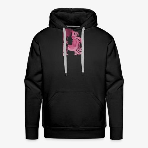 pink-930902_960_720 - Sweat-shirt à capuche Premium pour hommes