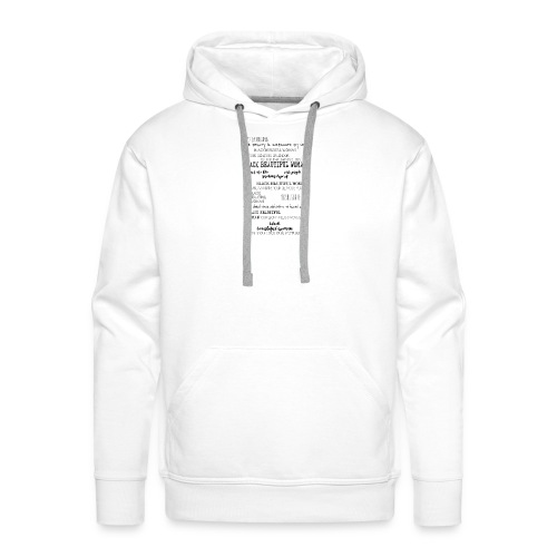 Beautiful Black Woman - Men's Premium Hoodie