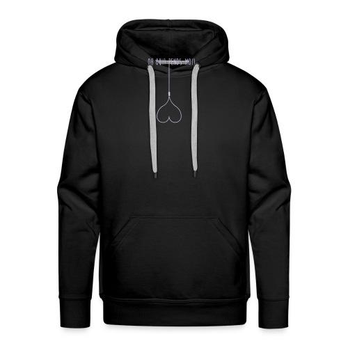 #LOViNGMiNDED_02 - Sweat-shirt à capuche Premium pour hommes
