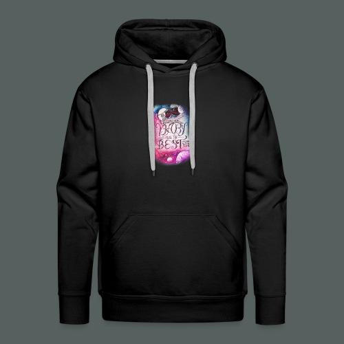galaxie baby - Sweat-shirt à capuche Premium pour hommes
