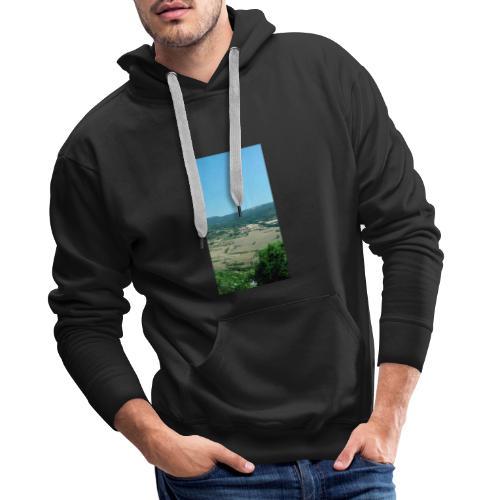 Panorama - Felpa con cappuccio premium da uomo