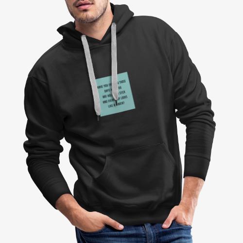 Piñata Slogan T-Shirt - Men's Premium Hoodie