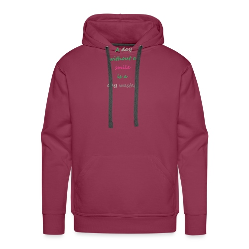 Say in English with effect - Men's Premium Hoodie