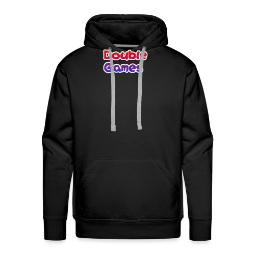 Double Games Tekst - Mannen Premium hoodie