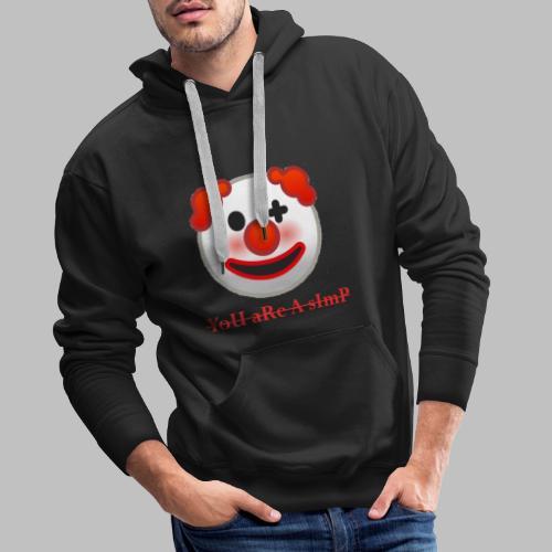 Clown Emoji - Mannen Premium hoodie