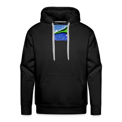 SEA AND MOUNTAIN - Sweat-shirt à capuche Premium pour hommes