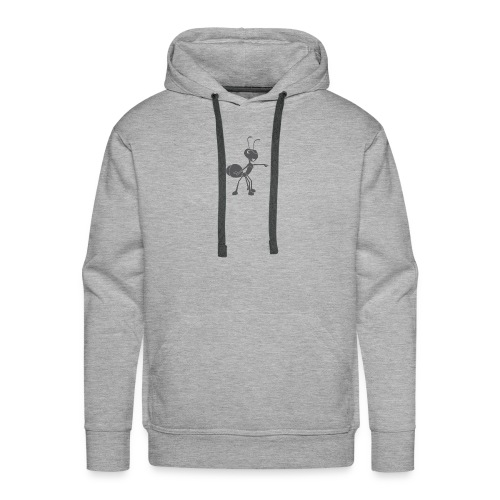 Mier wijzen - Mannen Premium hoodie