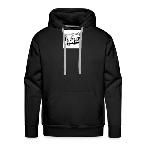 newfrontzidelogo - Herre Premium hættetrøje