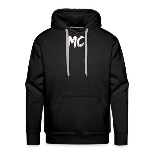 MC Merch Sweatshirt - Small badge (Grey) - Men's Premium Hoodie