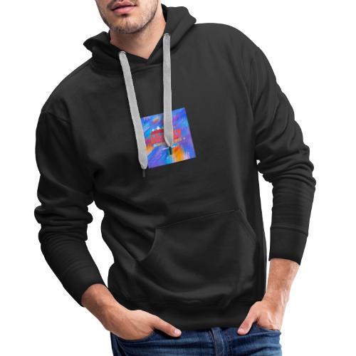 Logo HUSKY - Sweat-shirt à capuche Premium pour hommes