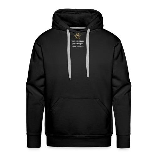 Lyon - Sudadera con capucha premium para hombre
